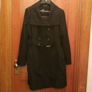 Long Belted Pea Coat